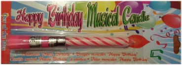 Happy Birthday Candle With Music
