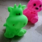 Preview: LED color changing figurine color changing multicolor color change Baerchen Hippo delfin