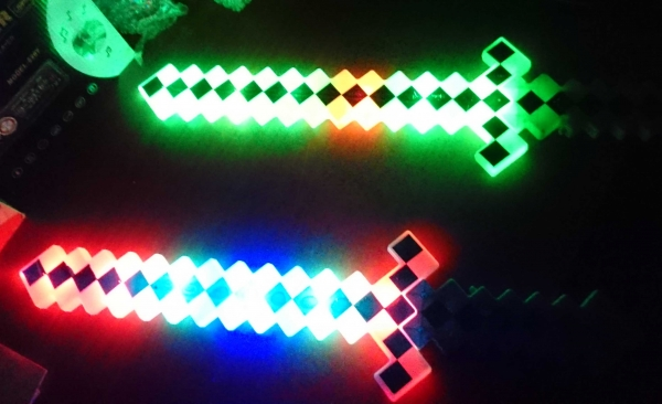 led light saber