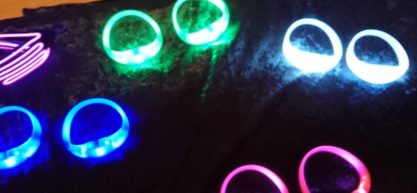 sound activated led bracelet